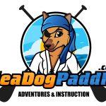 sea dog paddle logo - image