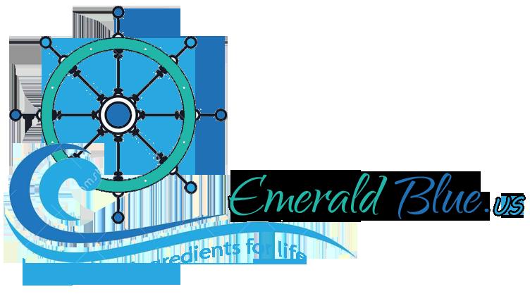 emerald blue logo - image