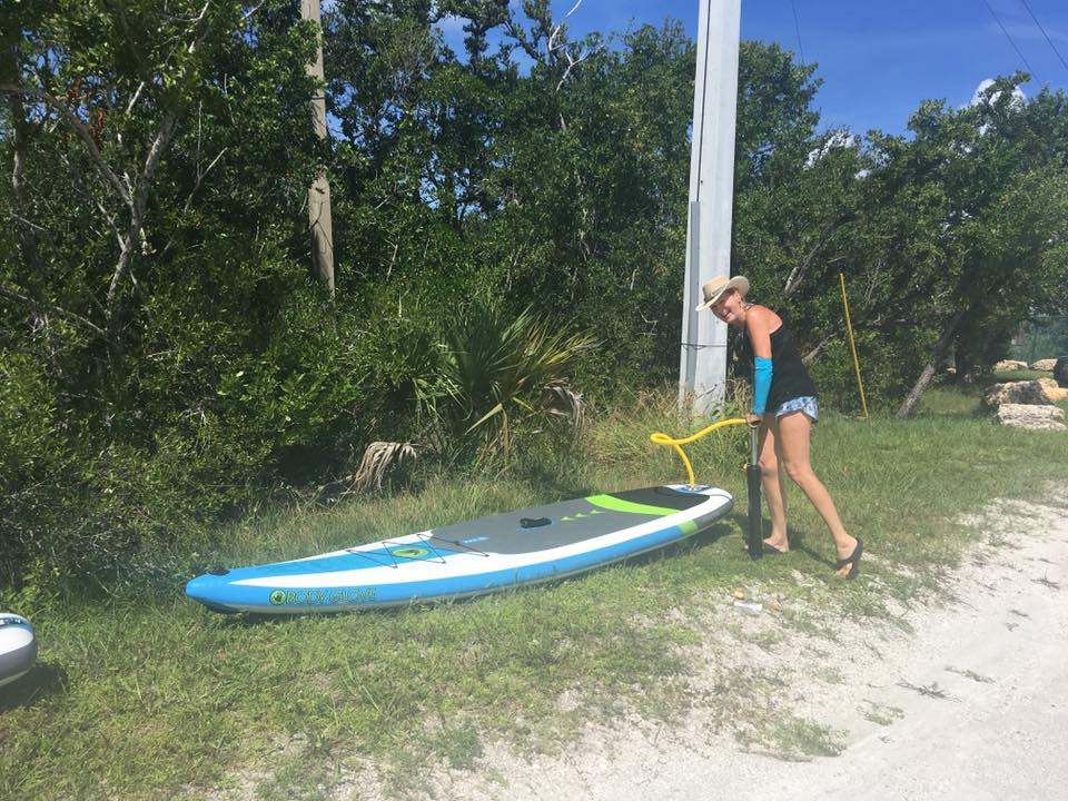 sheree pumping up inflatable sup - image